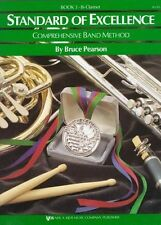 W23CL - Standard of Excellence Book 3 - Clarinet Bruce Pearson Paperback