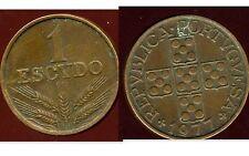 PORTUGAL 1 escudo  1977   ( bis )