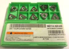 10 Wendeplatten zum Gewindedrehen SET100R3XMM NX55 von Mitsubishi Neu H11945