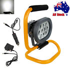 Rechargeable 60W 10 LED Portable LED Flood Spot Work Light Camping Lamp Charger