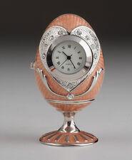 Ei Schmuckdose Uhr innen Handgemacht von Keren Kopal oesterreichischen Kristalln