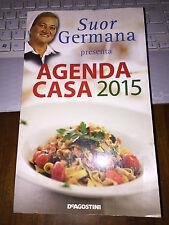 SUOR GERMANA presenta AGENDA CASA 2015 de agostini brossurato 490 pagine