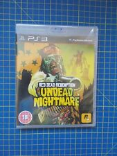 Red Dead Redemption - Undead Nightmare (PS3) New Factory Sealed