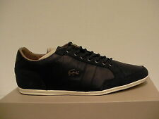 Lacoste casual shoes alisos 23 spm navy leather/suede size 9 us men