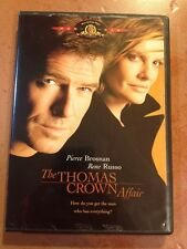 ☀️ The Thomas Crown Affair DVD Pierce Brosnan Rene Russo French Audio MINT R1