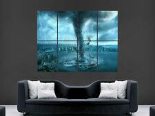Tornado Ciudad destrucción clima Arte imagen enorme gran Pared Cartel Imagen