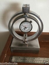 Soiltest Load Ring Gauge LC-2 Proving Ring ELE Heavy Steel Sliding Base USA