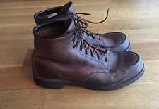 "Red Wing Mens 4183 Roughneck 6"" Moc Toe Brown Leather Boots US 12 D $270"