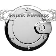 2002-2007 Jeep Liberty Chrome Fuel Door Gas Cap Cover