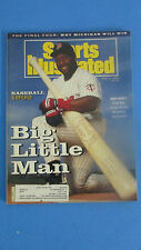 SPORTS ILLUSTRATED-APR.6,1992-KIRBY PUCKETT