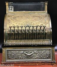 Antique Brass National Cash Register Model 324 NCR