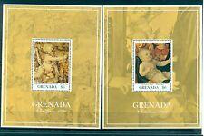 NOEL- CHRISTMAS GRENADA 1991 Art Durer blocks