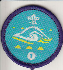 Boy Scout/Explorer Badge SWIMMER Stage 1 Proficiency