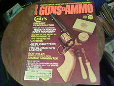 July 1979 Guns & Ammo Colt's Premier Peacemakers, Browning's 44 Magnum Carbine