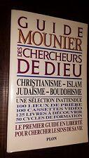 GUIDE MOUNIER DES CHERCHEURS DE DIEU
