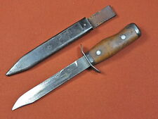 Vintage Polish Poland 1956 Fighting Knife w/ Scabbard Matching #