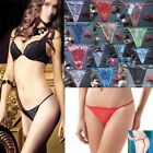 Wholesale Women Lace Sexy Mini Brief Thong Underwear G-string T-back Lot Bulk YX