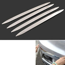 Front + Rear Bumper Protector Corner Guard Anti-crash Trim Strip For Captur 2015