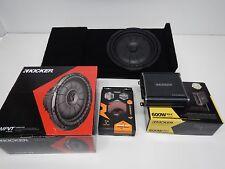 2014 to 2016 Chevy Silverado Crewcab Subwoofer Enclosure Speaker Box 12 Tan 2015