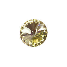 Genuine Swarovski 1122 Rivoli Round Stone Crystal Champagne F 14mm (E101/12)