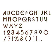 Alphabet Stencil Reusable Template for Wall Art Crafting and Painting Signs