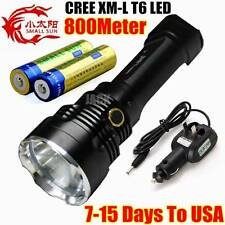 SMALL SUN T43 2500LM 800METER TACTICAL CREE XM-L T6 LED 18650 FLASHLIGHT+Charger