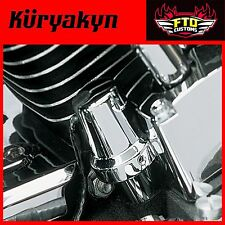 Kuryakyn Chrome Oil Sender Switch Cover All '84-'99 Evo Big Twins 8136