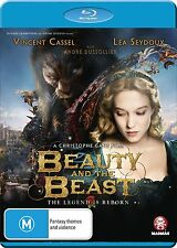 BEAUTY AND THE BEAST (2014 Vincent Cassel)   Blu Ray - Sealed Region B & for UK