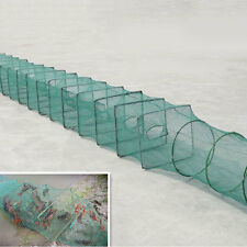 Foldable 10Ft Crab Fish Crawdad Shrimp Minnow Fishing Bait Trap Cast Net Cage