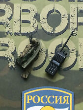 DAMTOYS Russian Airborne PKP Gunner VX Radio & Pouch loose 1/6th scale