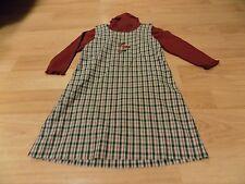 Size 4 Strasburg Holiday Christmas Jumper Dress & Turtle Neck Sweater Ho Ho Ho