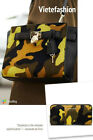 NWT Michael Michael Kors Camouflage Hamilton Traveler Messenger and Wallet Set