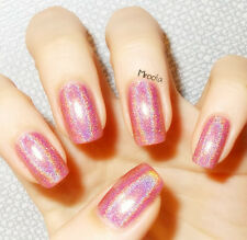 holographisch holo Nagellack Glitzer Holographic Nagel Polierung Nail Art 2#