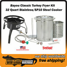 Turkey Fryer Complete Stainless Steel Stockpot and Accessories Steel Cooker