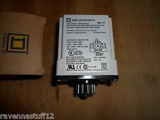 SQUARE D 9050JCK2F20V14 TIMER RELAY 240 VAC (NEW IN BOX)