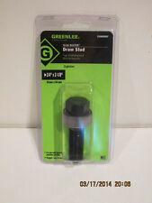 "Greenlee 249AVBBP 3/4"" X 2-1/8"" bb driv scr-FREE SHIPPING-BRAND NEW IN PACKAGE!!"