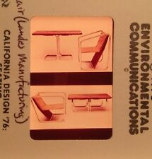 Charles Anacker Convertible Table Chair: 35mm Mid-century Modern Design Slide