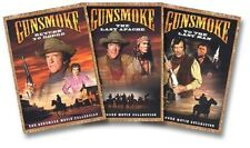 Gunsmoke 3 Movie Collection DVD Set (Return To Dodge, Last Apache & To Last Man)