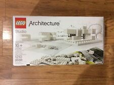 LEGO 21050 Architecture Studio PLAY SET BUILDING TOY SET, 6097683, White NEW