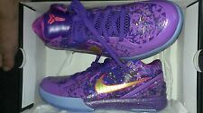DS NIKE ZOOM KOBE IV 4 PRELUDE Size 10.5 FINALS MVP 639693-500 COURT PURPLE NEW
