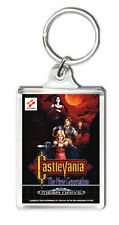 CASTLEVANIA THE NEW GENERATION MEGA DRIVE KEYRING LLAVERO