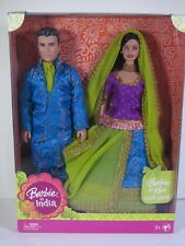 NIB BARBIE DOLL BARBIE & KEN GIFT PACK IN INDIA
