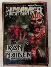METAL HAMMER September 2015 IRON MAIDEN Book Of Souls 3D BOX Collectors Edition