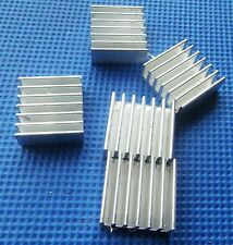 5pcs White 14*14*6 MM Aluminum Heat sink for ICs LED DIY