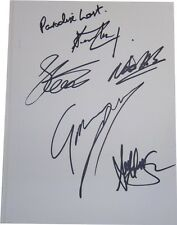 Paradise Lost SIGNED AUTOGRAPHS MTVs Most Wanted AFTAL UACC