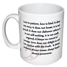 Corrinthians 13:4-7 Love Is Patient Love Is Kind Verse Mug