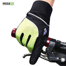 Thermal Fleece Adults Windproof Bicycle Full Finger Cycling Bike Gloves Size XL