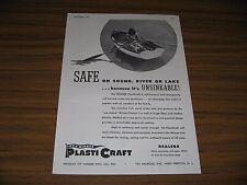 1945 Print Ad WINNER Plasticraft Unsinkable Boats West Trenton,NJ