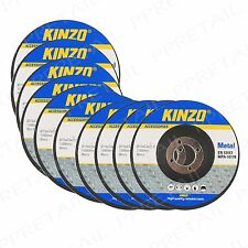 20 x METAL 115mm CUTTING DISC SET High Quality 3mm Thick Angle Grinder Cut Off