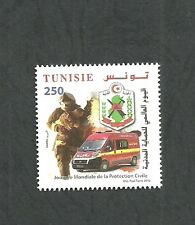 2016– Tunisia- World Day of Civil Protection- Complete set  1 V- MNH**